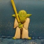 yoda on cake