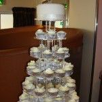 all white cupcakes