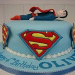 superman cake