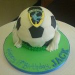 bluebirds football cake