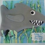 shark cake