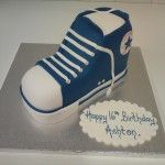 converse boot cake