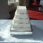 Ivory panel cake