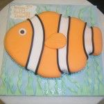 nemo shaped cake