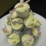 freesia cupcakes