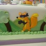 swiper, dora the explorer cake