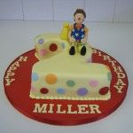mr tumble the clown cake