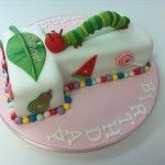very hungry catterpillar cake