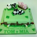 farm yard cake