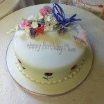 sweet pea birthday cake