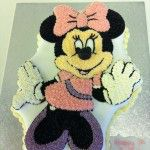 flat minney mouse cake