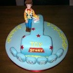 toy story number one cake