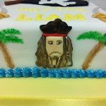 captain jack sparrow cake