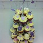 purple cupcakes