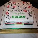 welsh themed cake