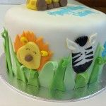animals from jungle cake