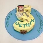 pirates number 5 cake