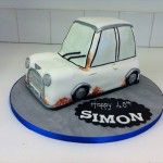 old style mini cake with rust