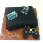 playstation birthday cake