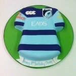 cardiff blues shirt birthday cake