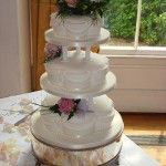 3 tier petal with swags