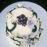 violet cake