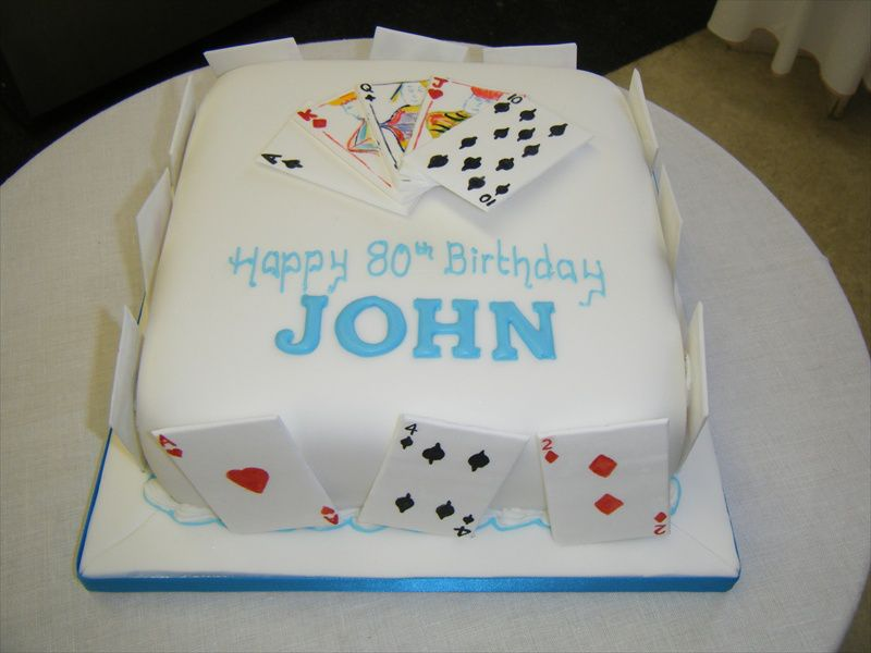 Cake Designs Playing Cards : Playing Cards Cake Cake Ideas and Designs