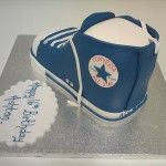 converse shoe cake