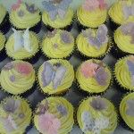 purple and pink cupcakes