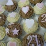 21st cupcakes