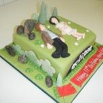 twilight eclipse cake