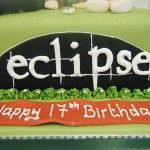 eclipse cake