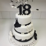 16th 18th and 21st Birthdays Cakes for Celebrations