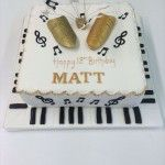 theatre and music cake