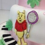 winnie the pooh cake with hobbies 18th birthday