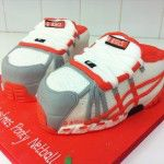 trainers cake