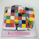 elmer the elephant cake
