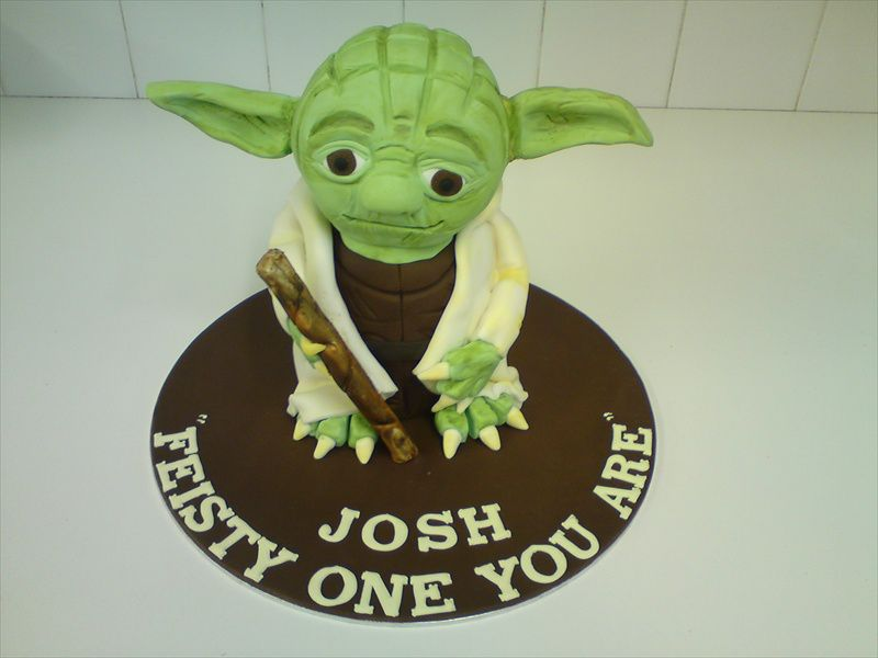 Yoda Cake For A Very Special Person Cakes For Celebrations