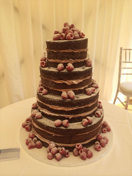 Naked Wedding Cakes Cakes For Celebrations